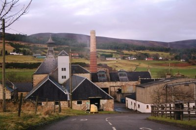 The legendary Brora Whisky Factory. Back when factories were smaller and run by actual people.