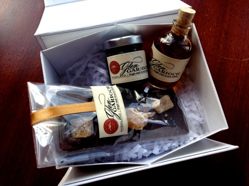 Is like Santa was born in Glen Garioch Old Meldrumshire and comes to Italy for Summer Christmas.