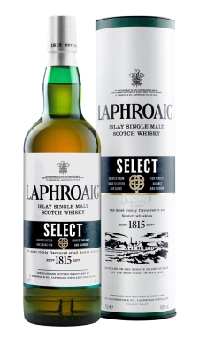 'Select' Laphroaig, clever marketing time for brain persons at distillery.