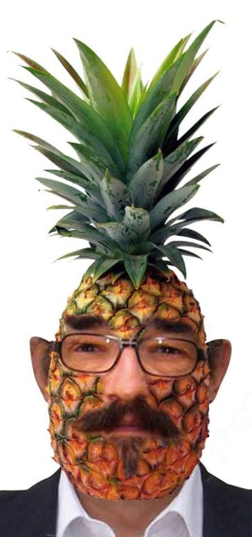 Jasper as a young pineapple at Umbongo University.